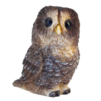 Spotted Owl - Harmony Ball Pot Belly Box Figurine