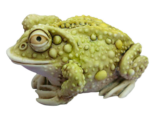 harmony kingdom thoughtful prince solid toad figurine