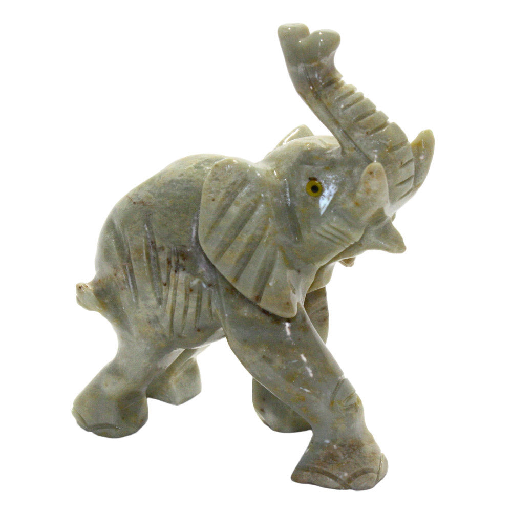 carved stone elephant