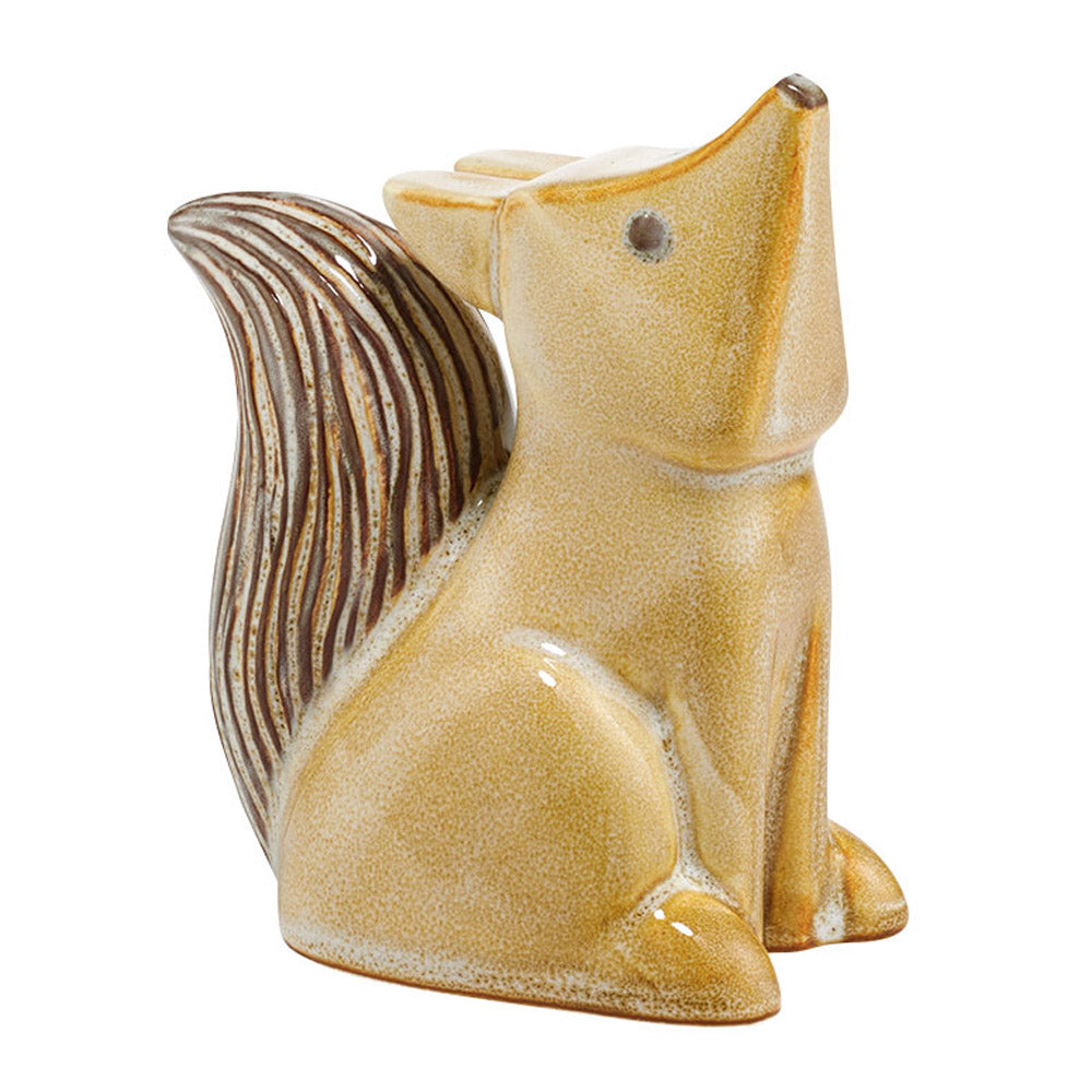 Ceramic Baby Fox Figurine