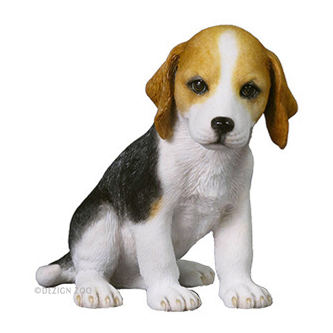 beagle puppy figurine