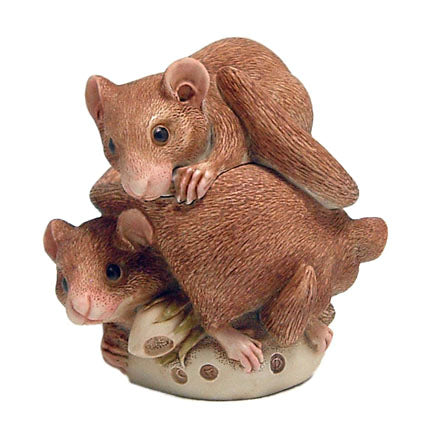 harmony kingdom bed and breakfast dormouse box figurine