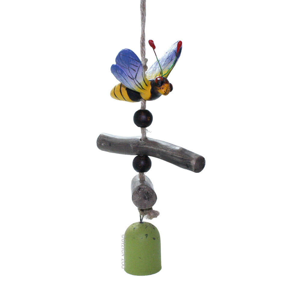 bumblebee bell wind chime
