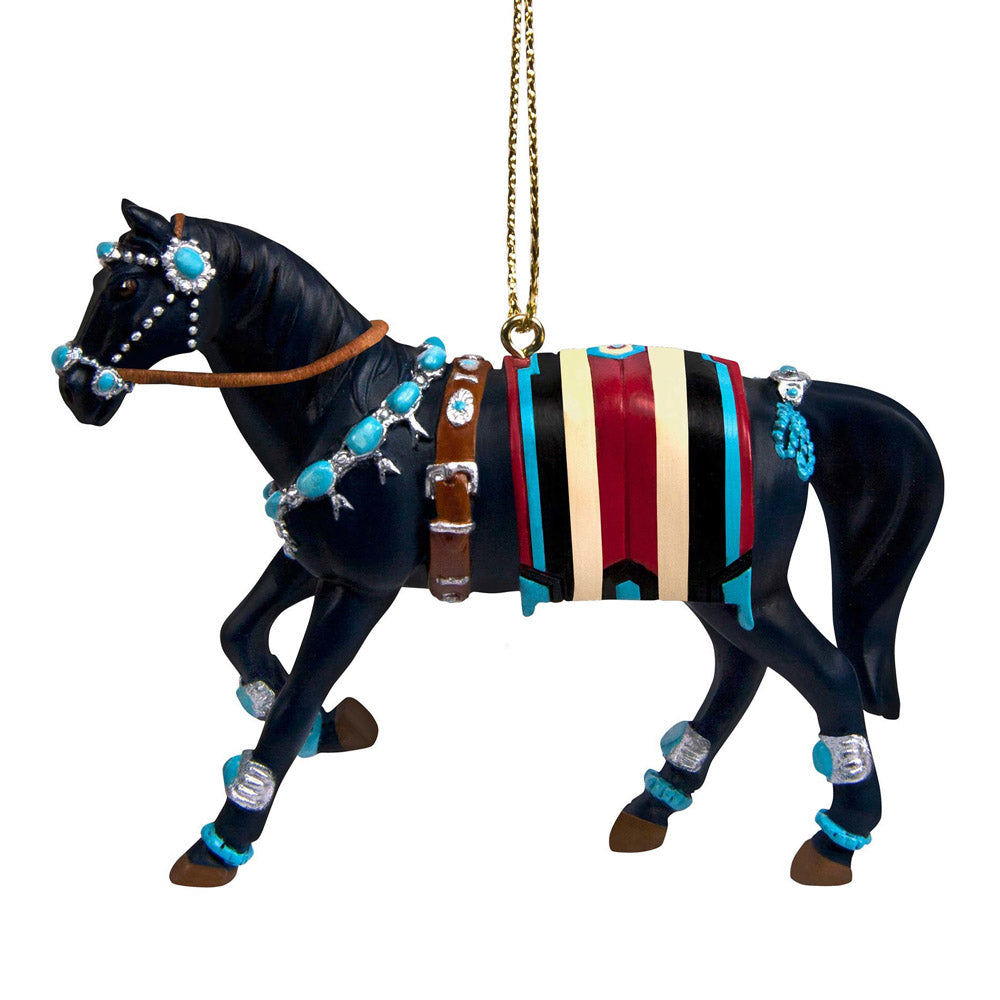 trail of painted ponies squash blossom ornament