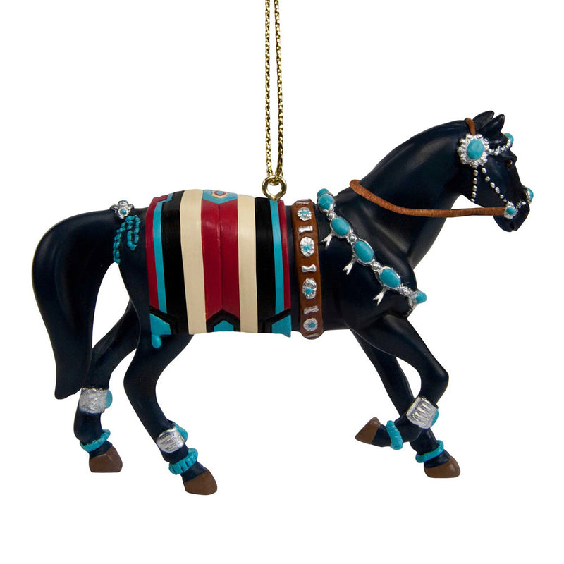 trail of painted ponies squash blossom ornament view 2