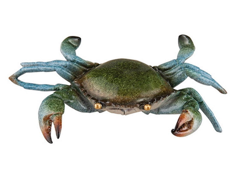 Life-size Blue Crab Figurine