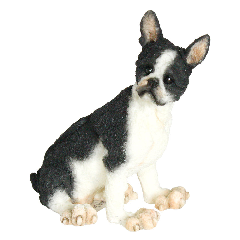 a breed apart boston terrier figurine