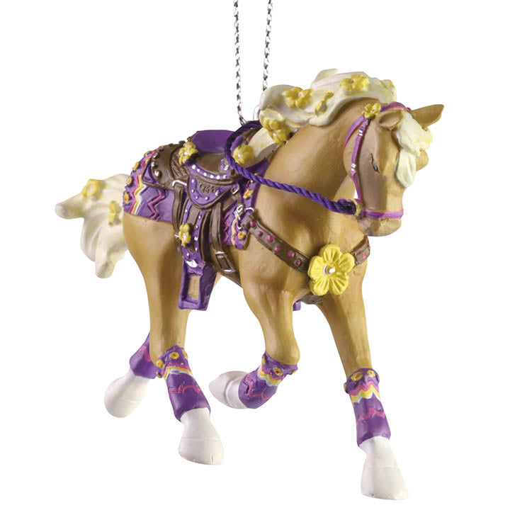 trail of painted ponies buttercup ornament
