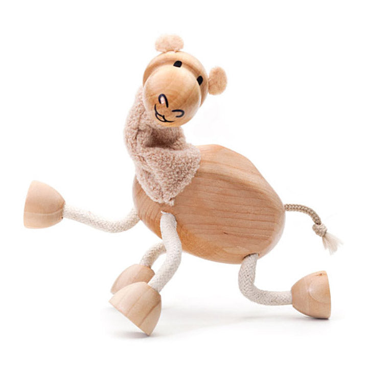 anamalz wooden camel toy