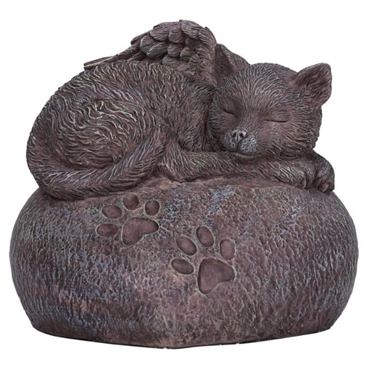 cat angel urn for ashes
