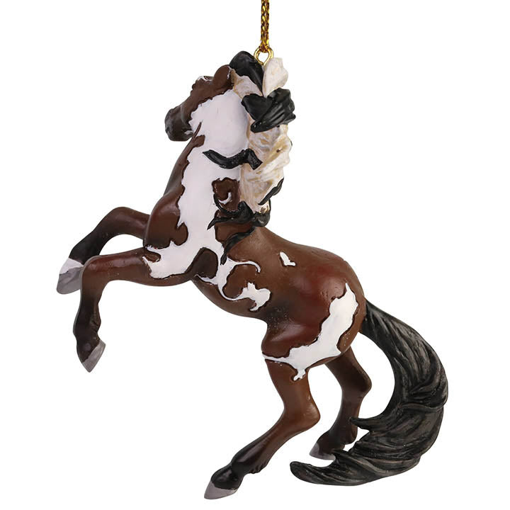 trail of painted ponies dance of the mustang ornament back view