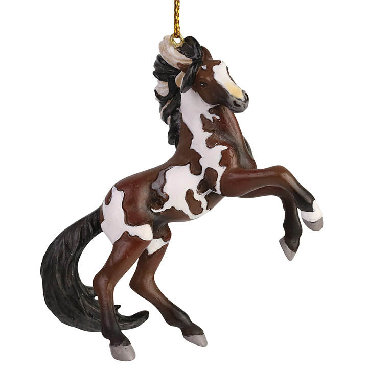 trail of painted ponies dance of the mustang ornament