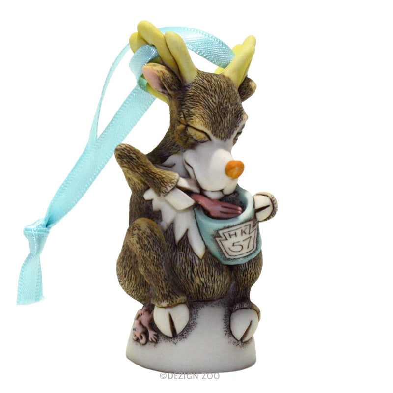 harmony kingdom donner reindeer ornament