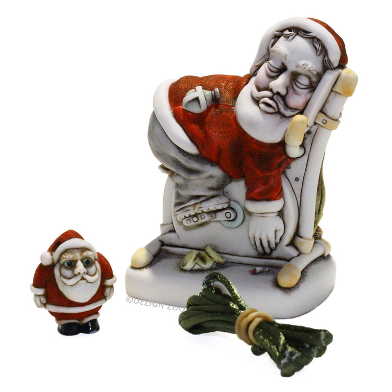 harmony kingdom dream machine santa with pendant