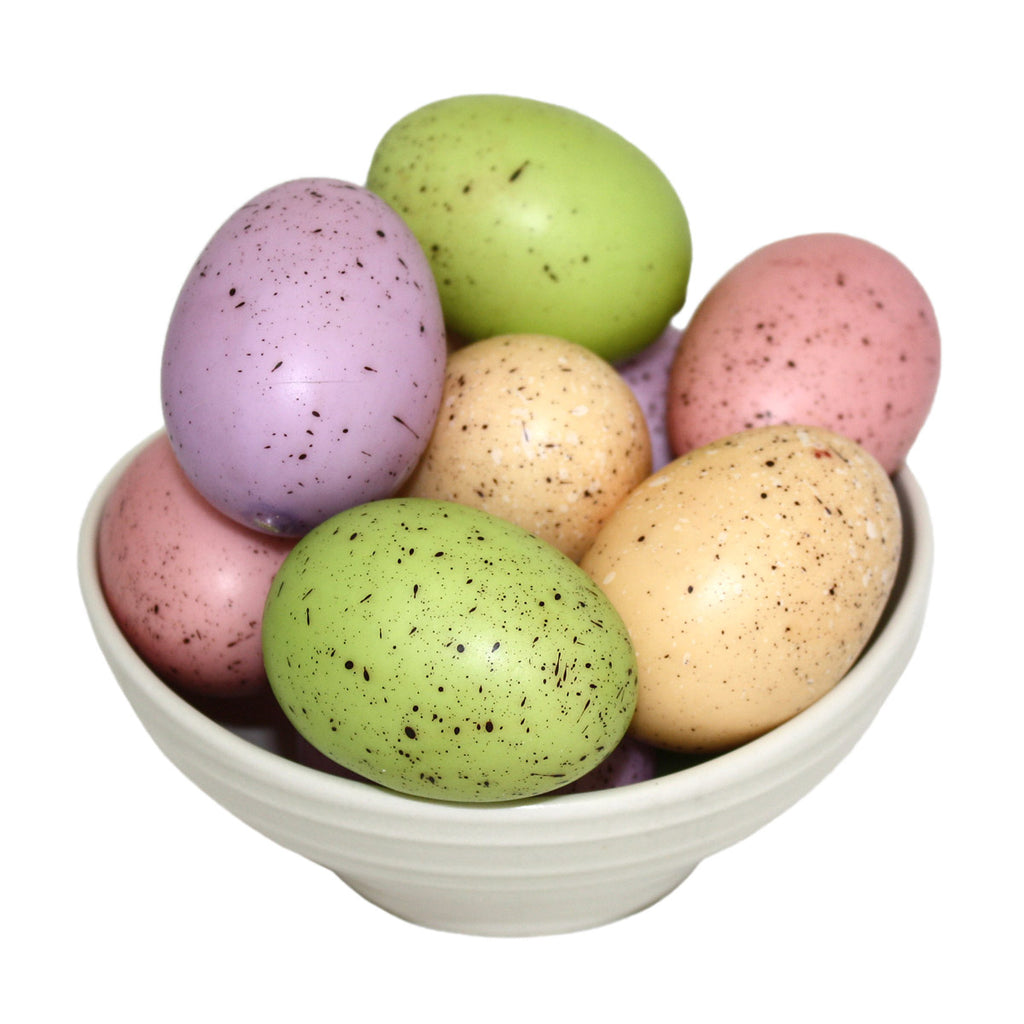 speckled styrofoam easter egg bowl fillers
