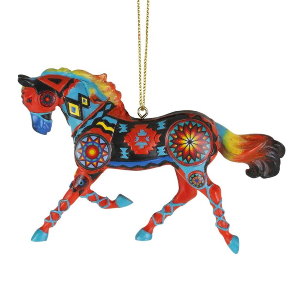 trail of painted ponies the eye dazzler horse ornament