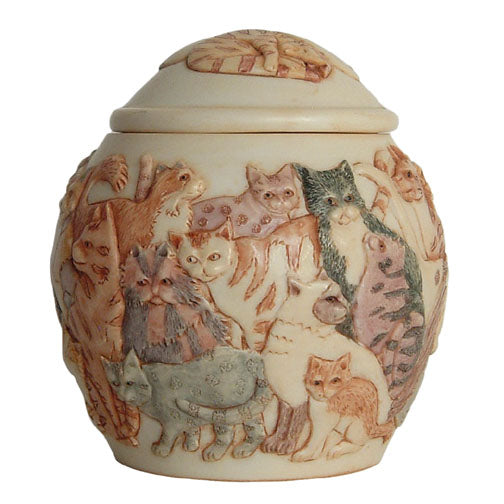 harmony ball / kingdom felinicity jardinia cat urn