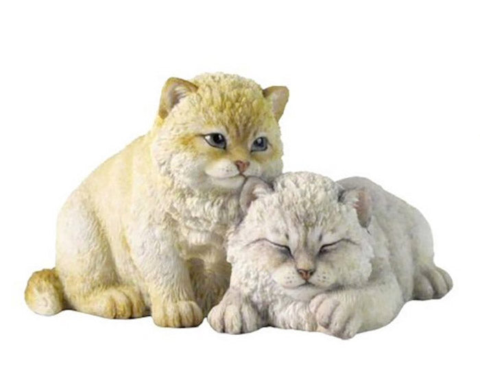 fluffy kittens figurine