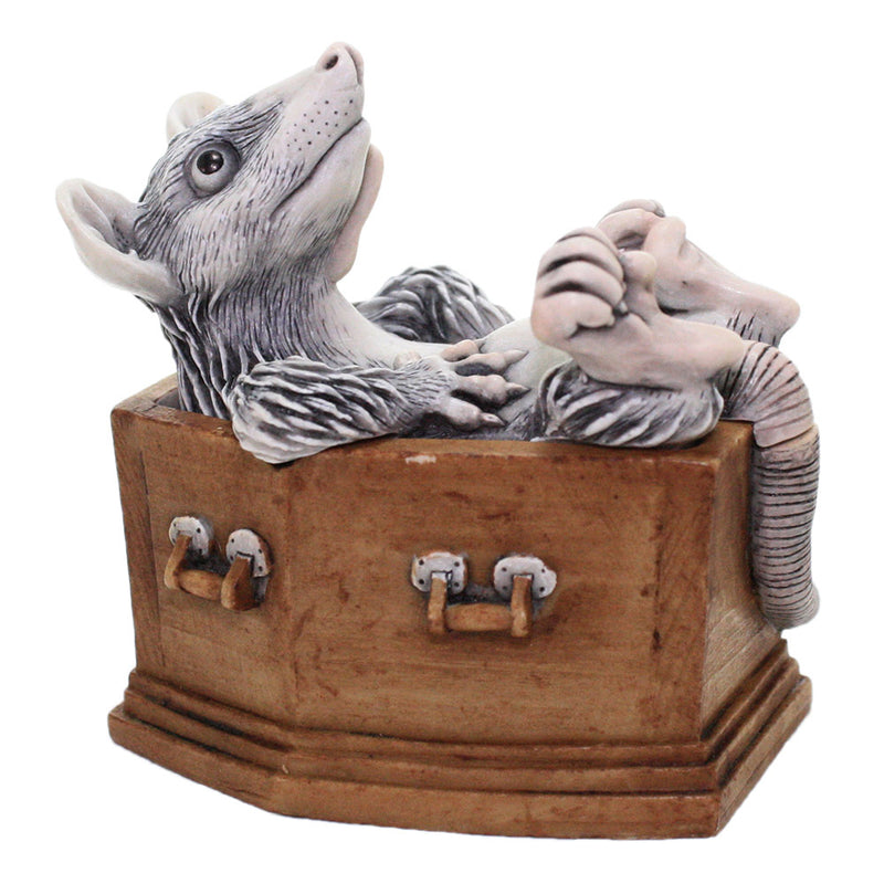 Graveyard Shift V2 - Harmony Kingdom Rat in Coffin