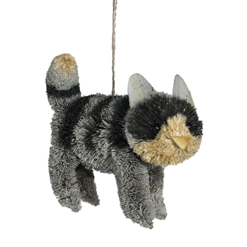 Brush Cat Ornament - 4 Styles