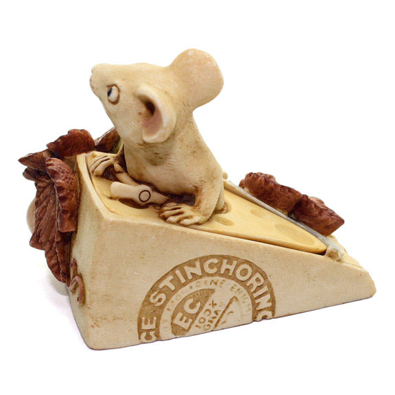harmony kingdom gruyere mouse version two back view