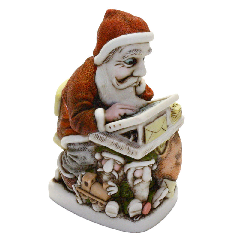 harmony kingdom buy n' cell 2016 santa