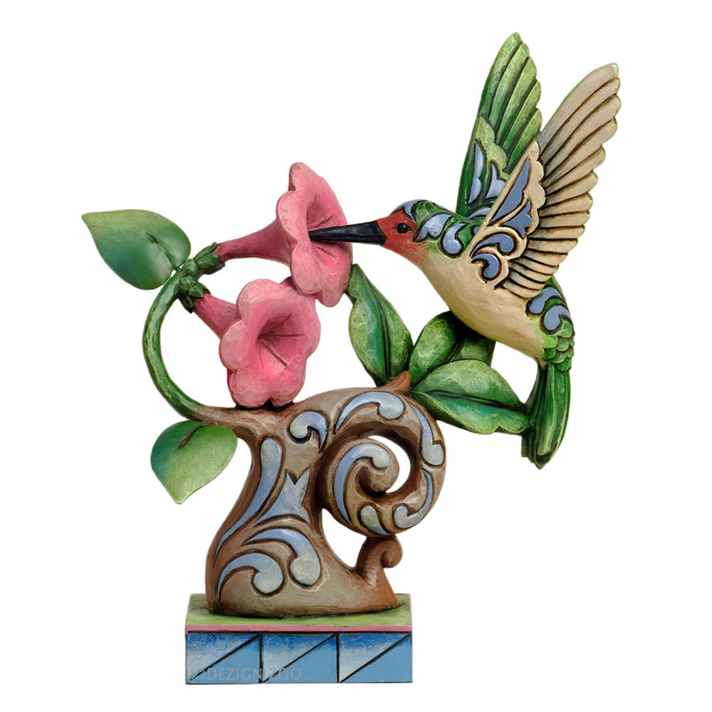 jim shore hummingbird figurine