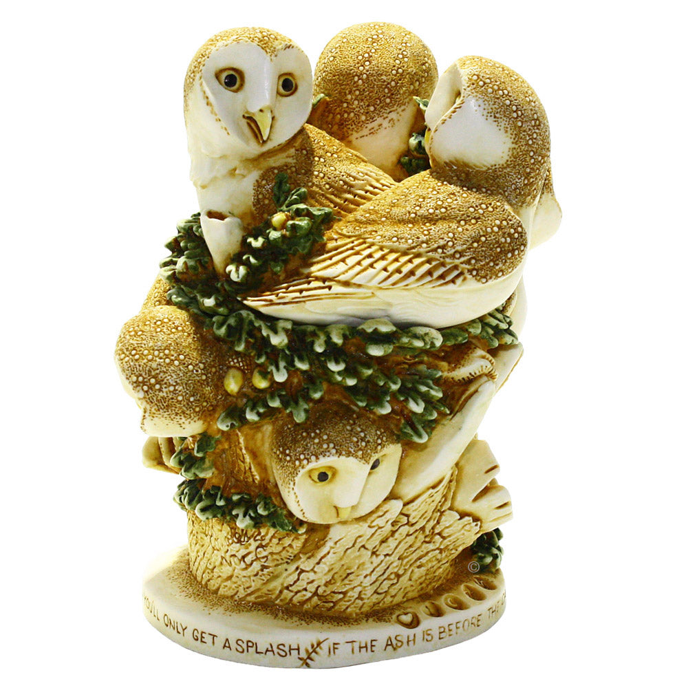 harmony kingdom ivory tower barn owl treasure jest