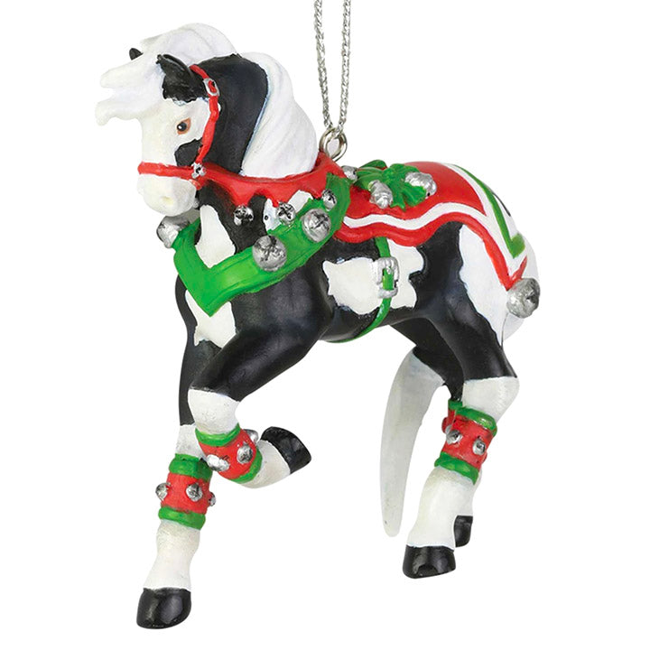trail of painted ponies jingle all the way ornament
