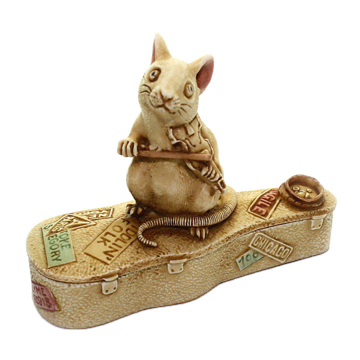 harmony kingdom mouse playing violin treasure jest