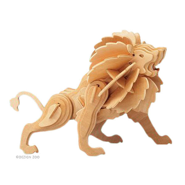 PUZ1250 Lion Wooden Craft Puzzle