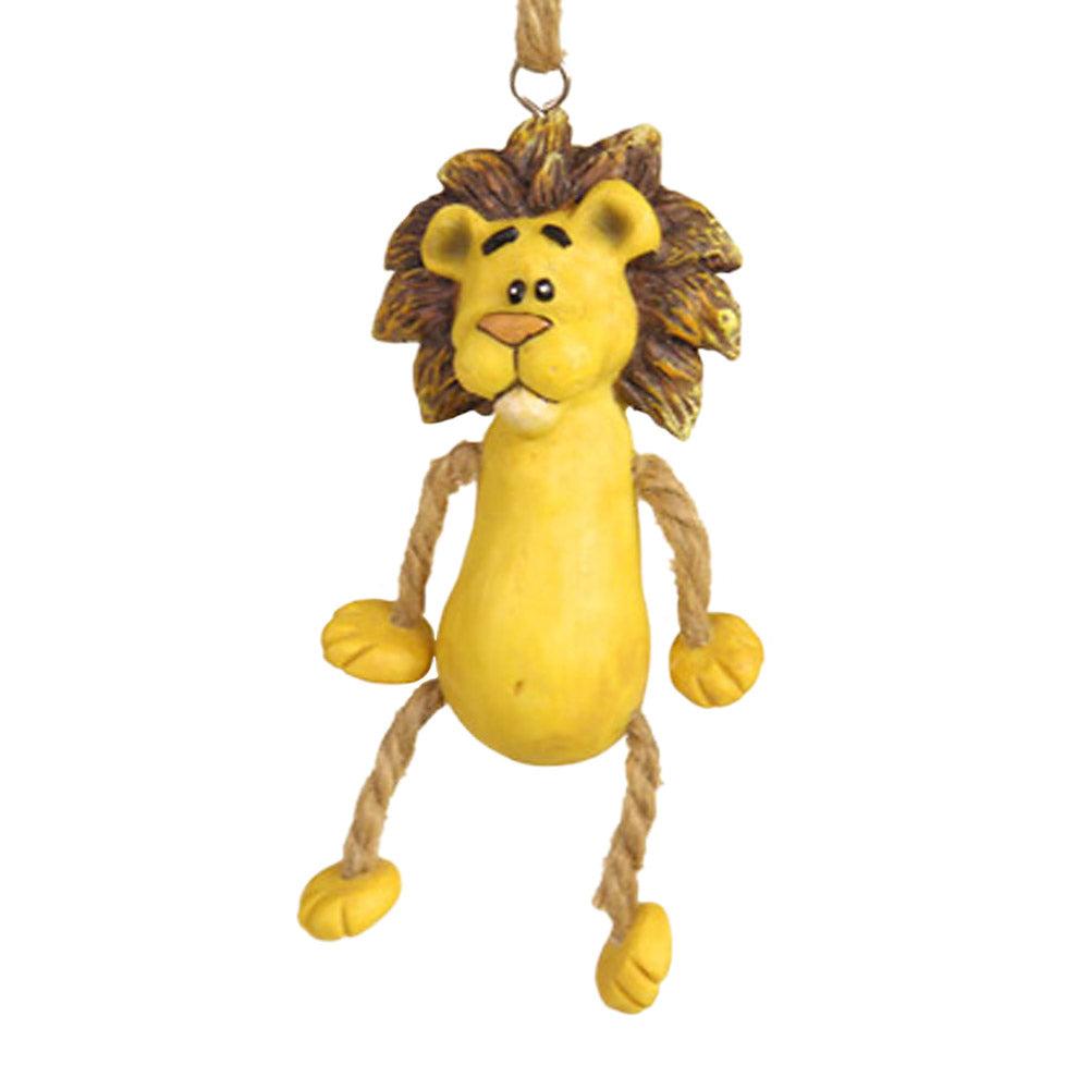 Dangly Leg Lion Ornament