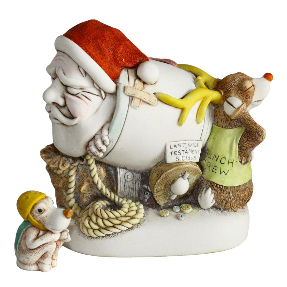 harmony kingdom mail shot santa and pendant