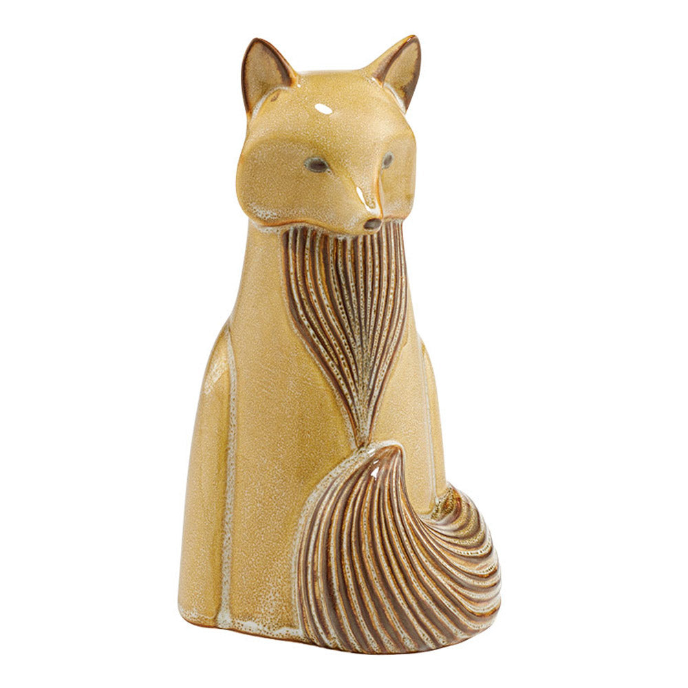 dept 56 ceramic fox figurine