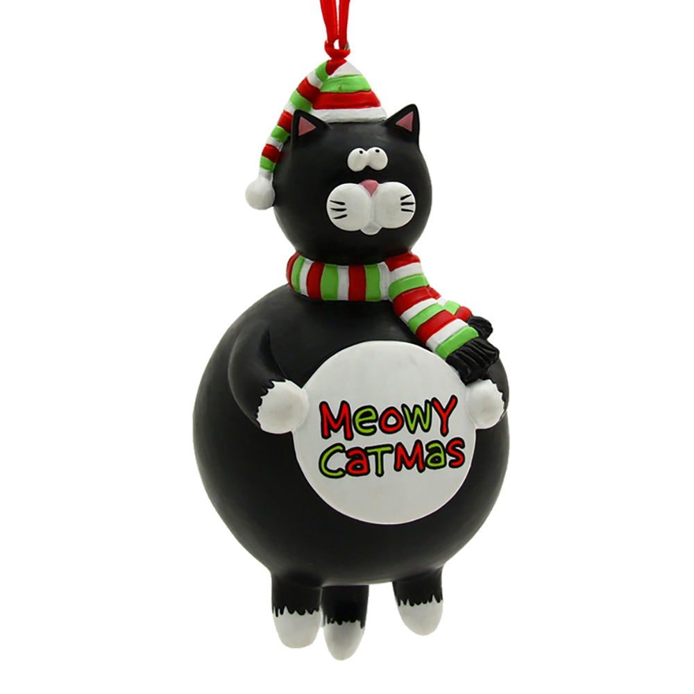 our name is mud meowy catmus ornament