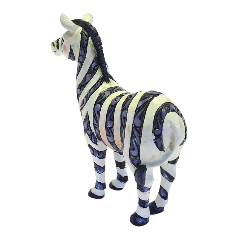 jim shore heartwood creek mini zebra figurine