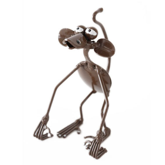 spoon sculpture monkey figurine