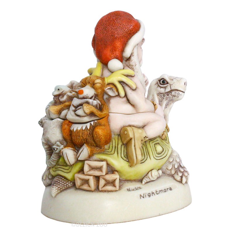 harmony kingdom nick's nightmare santa box figurine alt view 2