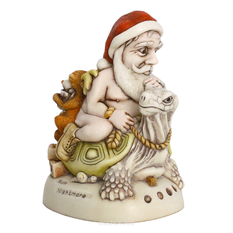 harmony kingdom nick's nightmare santa box figurine