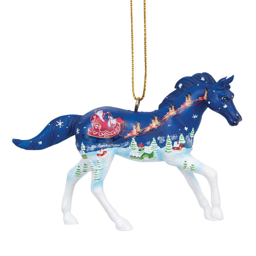 trail of painted ponies old fashioned christmas ornament