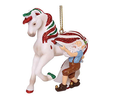 trail of painted ponies candy coated treat ornament