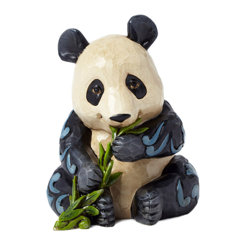 jim shore mini panda figurine