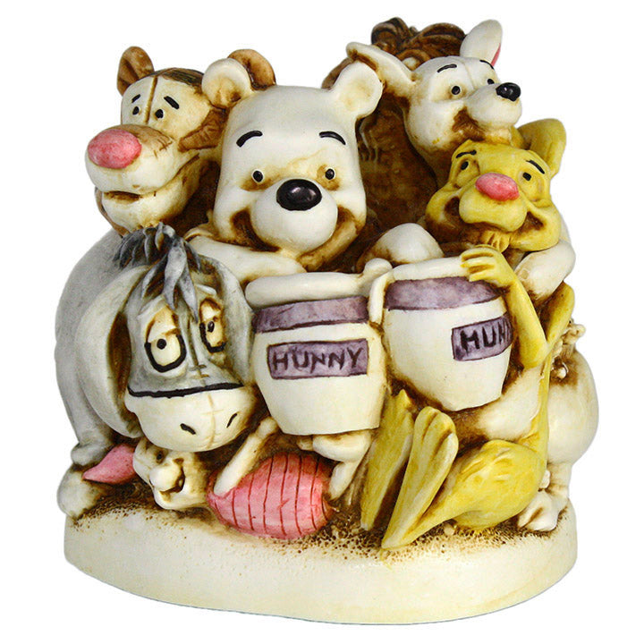 harmony kingdom pooh and friends box figurine
