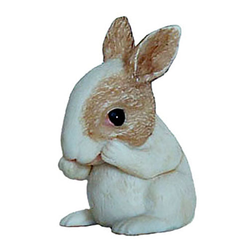 potter baby rabbit pot belly side view