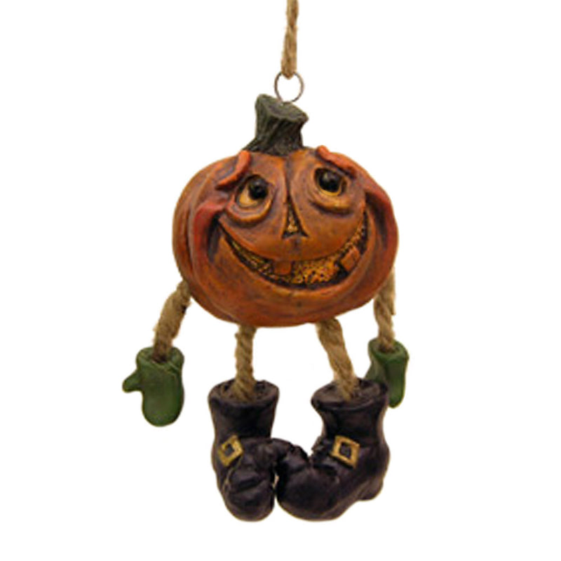 hanging pumpkin head halloween ornament