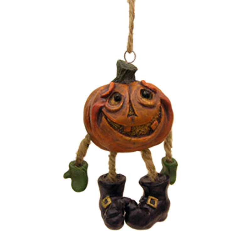 pumpkin head halloween ornament