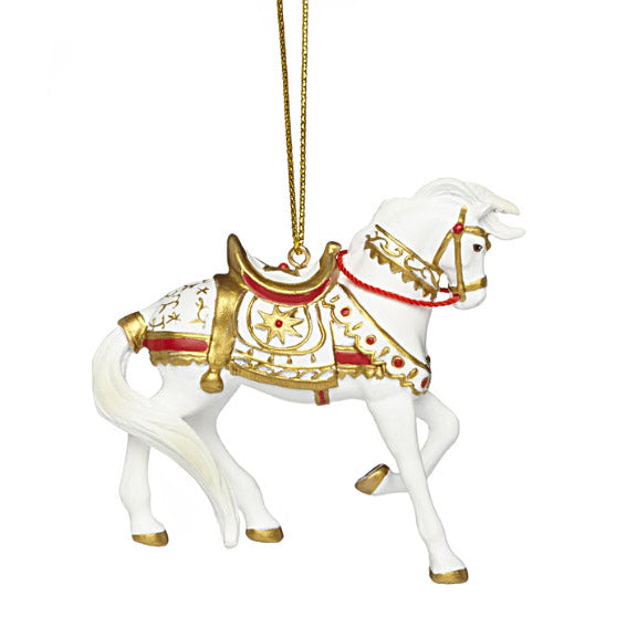 trail of painted ponies a royal holiday ornament right side view