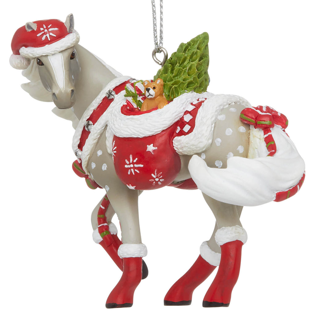 trail of painted ponies santas little helper ornament