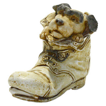 harmony kingdom solemate dog in boot