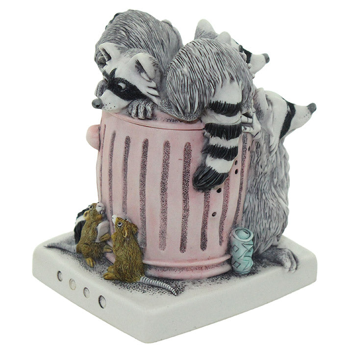 harmony kingdom trash talk raccoon treasure jest